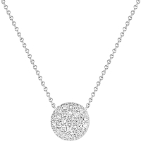 Dana Rebecca 'Lauren Joy' Medium Diamond Disc Pendant