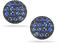 Dana Rebecca 'Lauren Joy' Mini Sapphire Earrings