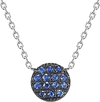 Dana Rebecca 'Lauren Joy' Mini Sapphire Necklace
