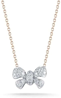 Dana Rebecca 'Margo Ashley' Diamond Bow Pendant