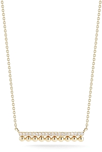 Dana Rebecca 'Poppy Rae' Diamond Bar Necklace
