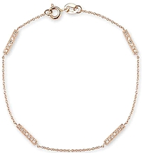 Dana Rebecca 'Sylvie Rose' Diamond Bar Bracelet