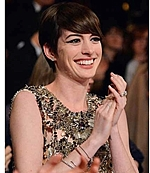'Sylvie Rose' Cuff as seen stacked on Anne Hathaway!
