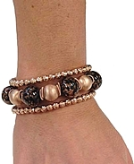 Dahna shown stacked with Scintilla Rosa; Sold separately.