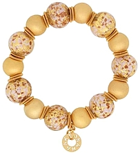 Edna Haak 'Karlia' 18K Yellow Gold Vermeil Sterling Silver Beaded Bracelet