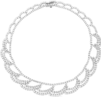 Estate Diamond Necklace-30cts TW