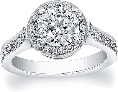 Image result for Halo Engagement Rings png