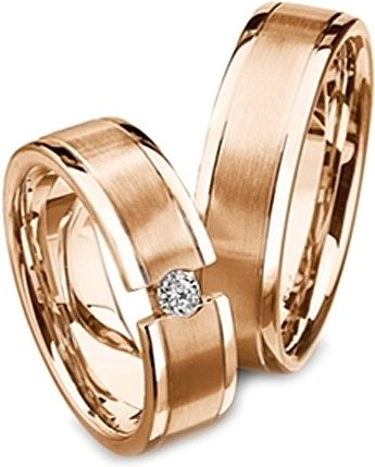 ring wedding with rose zoom band bands gold mens il diamonds brushed listing tone