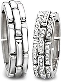 Furrer Jacot Wedding Rings