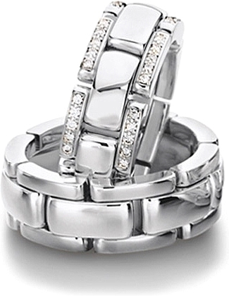 Furrer Jacot Sculptures Flexible Mens Wedding Band 712276000