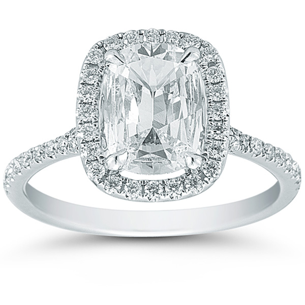 Cushion Cut Diamond Cushion Cut Diamond Ring Setting