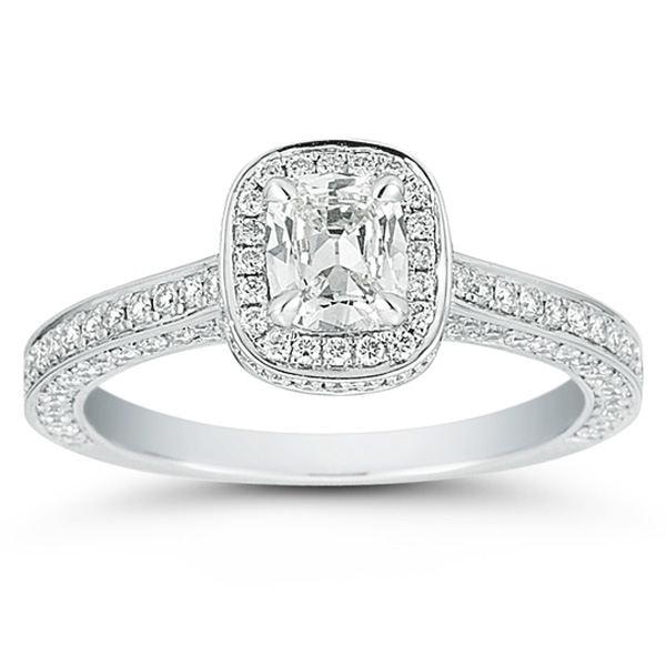 Cushion Cut Diamond Cushion Cut Diamond Engagement Ring Settings