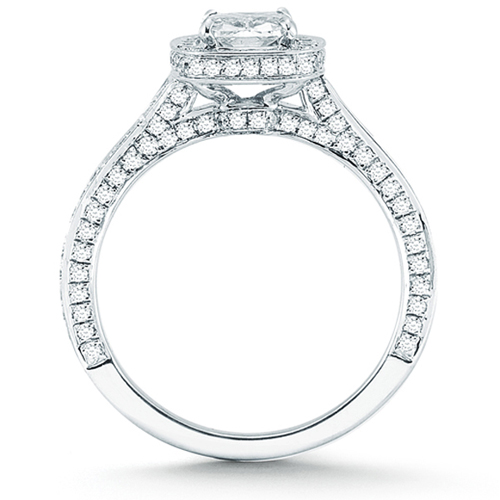 Cushion Cut Diamond Cushion Cut Diamond Setting