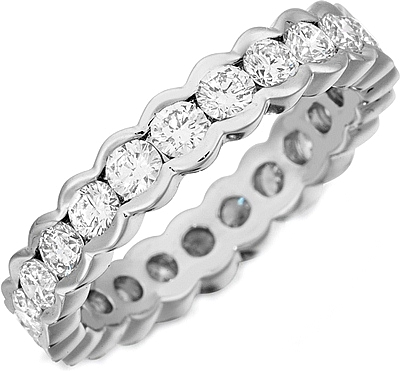 g annello gold shipping eternity product bands tdw diamond band jewelry white h semi overstock watches free today