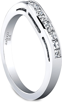 Jeff Cooper Curved Wedding Band