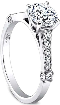 Jeff Cooper 'Hope' Pave Diamond Engagement Ring