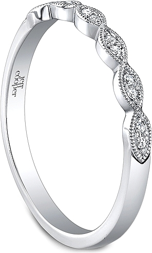 Jeff Cooper Marquise Shaped Diamond Wedding Band RP1606B