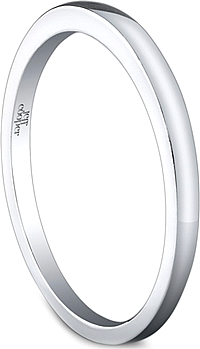 Jeff Cooper Plain Ladies Wedding Band