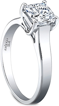 Jeff Cooper Solitaire Engagement Ring