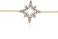 Jordan Scott Diamond Star Bracelet