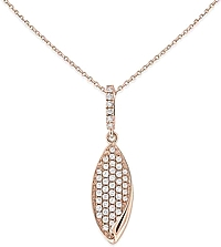 KC Designs 14K Rose Gold Diamond Pendant