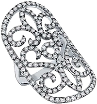 KC Designs 14K White Gold Diamond Ring