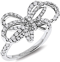 KC Designs Diamond Bow Ring