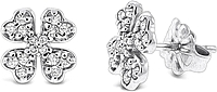KC Designs Diamond Clover Earrings