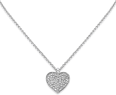 Kc designs diamond heart pendant n7613 aloadofball Images