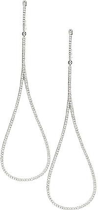 KC Designs Teardrop Diamond Earrings