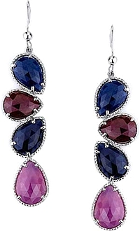 Michael M. Sapphire Drop Earrings