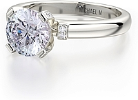 Michael M. Solitaire Diamond Engagement Ring