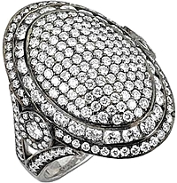 Michael M. Vintage Inspired Diamond Ring
