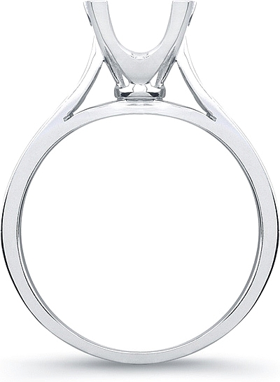Novo Cathedral Four Prong Solitaire Engagement Ring 1 8mm