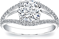 Open Pave Diamond Setting