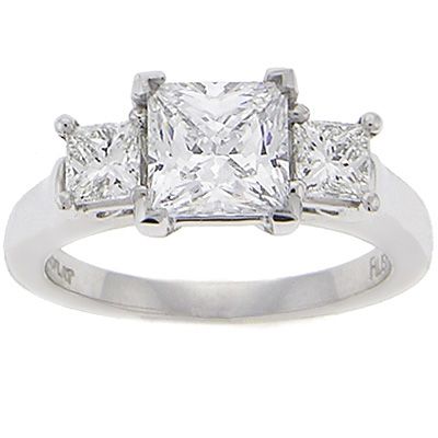 ring settings engagement ring settings princess cut