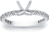 Prong-Set Diamond Engagement Ring (1/3 ct. tw.)