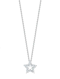 Roberto Coin Tiny Treasures Diamond Star Necklace