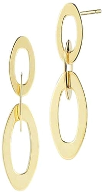 Roberto Coin Yellow Gold Chic & Shine Earrings