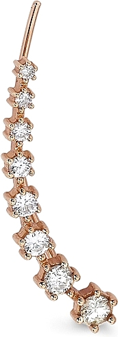 Sara Weinstock Rose Gold Diamond Ear Cuff