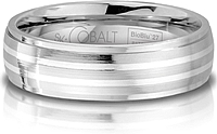 Scott Kay Cobalt Gents Wedding Band -6.0MM