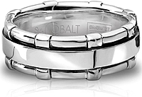 Scott Kay Cobalt Gents Wedding Band -8MM