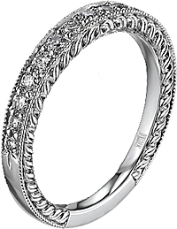 Scott Kay Pave-Set Diamond Wedding Band