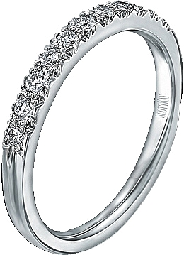 scott kay pave set diamond wedding band b1077rd - Scott Kay Wedding Rings