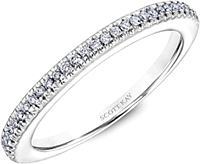 Scott Kay Prong Set Diamond Wedding Band
