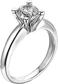 Scott Kay Solitaire Engagement Ring
