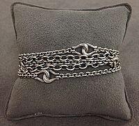 Scott Kay Sterling Silver 5 Row Bracelet