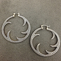 Scott Kay Sterling Silver Beaded Earrings