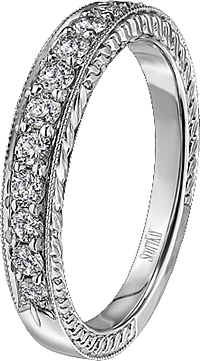 Scott Kay Vintage Pave-set Diamond Wedding Band