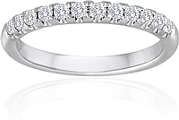 Signature Pave Diamond Wedding Band